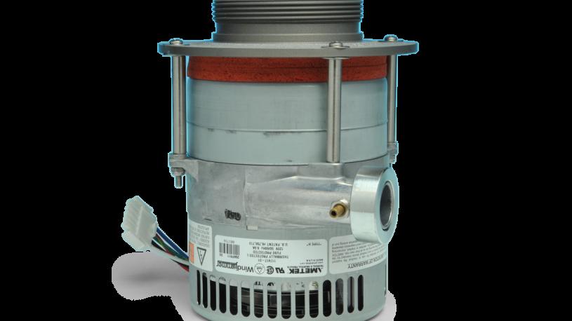Brushless motor for PUF sampler