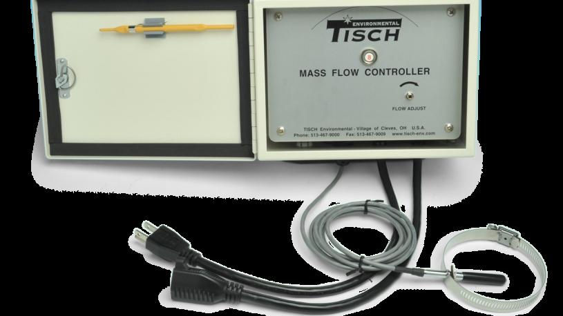Mass Flow Controller for high volume air sampler