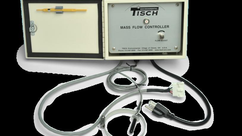 Brushless Mass flow controller for high volume air sampler