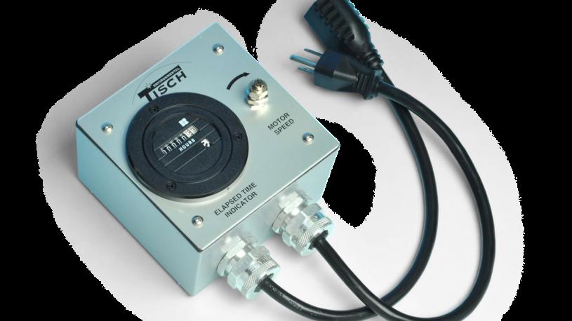 Voltage variator for high volume air sampler